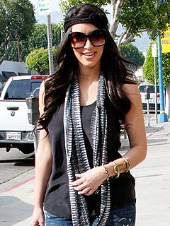 Kim wears the Nal Cuff $124